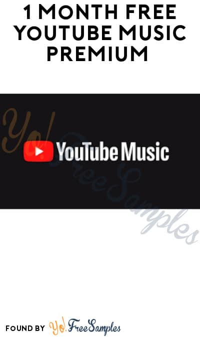 1 Month FREE YouTube Music Premium (Credit Card Required)
