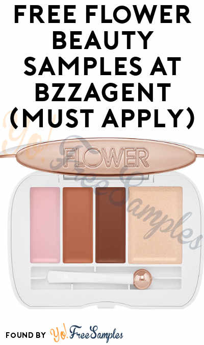 FREE Flower Beauty Samples At BzzAgent (Must Apply)