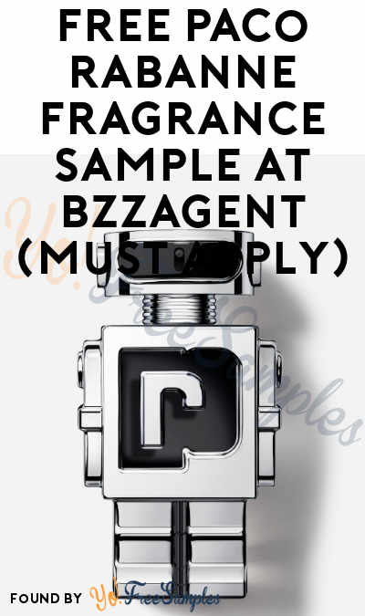 FREE Paco Rabanne Fragrance Sample At BzzAgent (Must Apply)