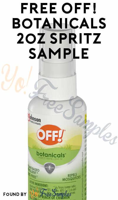 FREE OFF! Botanicals 2oz Spritz Sample