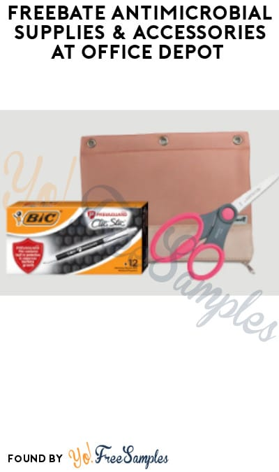 FREEBATE Antimicrobial Supplies & Accessories at Office Depot (Rewards Required)