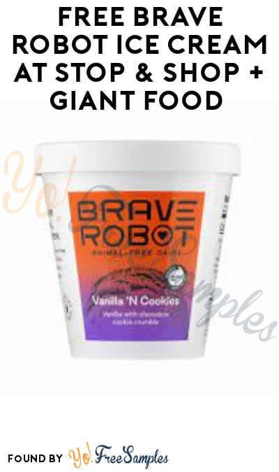 FREE Brave Robot Ice Cream at Stop & Shop + Giant Food (Account/ Coupon Required)