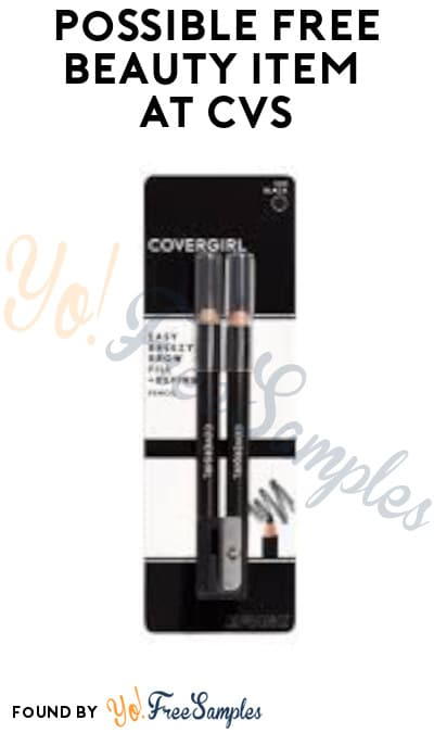 Possible FREE Beauty Item at CVS (App/ Coupon Required)