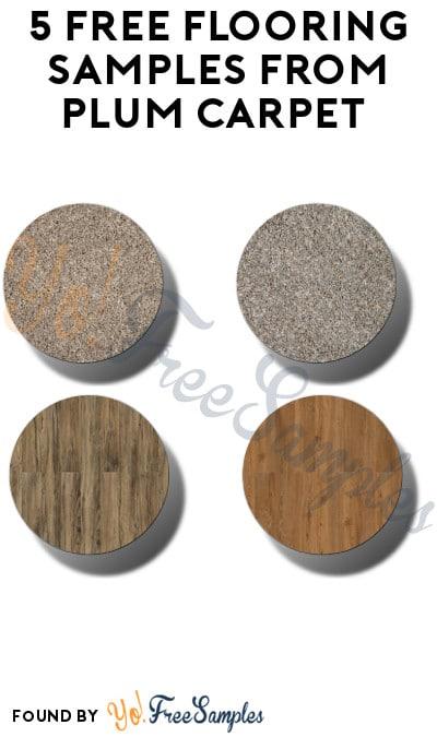 5 FREE Flooring Samples from Plum Carpet