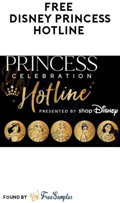 FREE Disney Princess Hotline