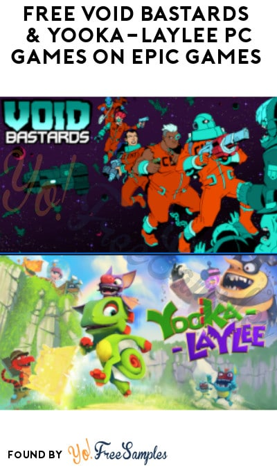FREE Void Bastards & Yooka-Laylee PC Games on Epic Games (Account Required)