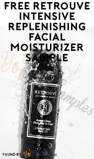 FREE Retrouvé Intensive Replenishing Facial Moisturizer Sample