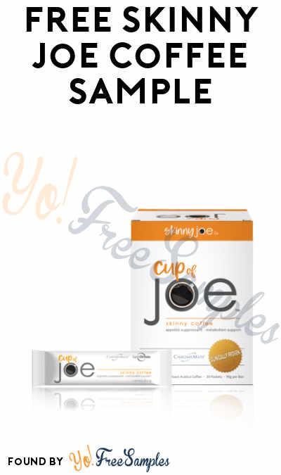 FREE Skinny Joe Coffee Sample
