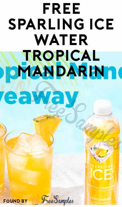 FREE Sparling Ice Water Tropical Mandarin