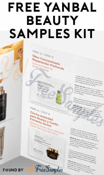 FREE Yanbal Beauty Samples Kit