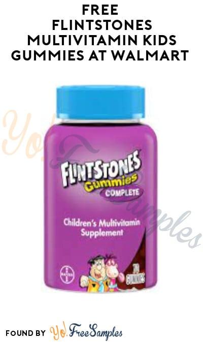 FREE Flintstones Multivitamin Kids Gummies at Walmart (Coupon & Ibotta Required)