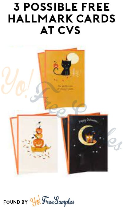 3 Possible FREE Hallmark Cards at CVS (Coupon/ App Required)