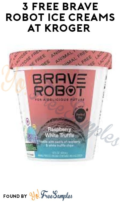 3 FREE Brave Robot Ice Creams at Kroger (Account/ Coupon & Ibotta Required)