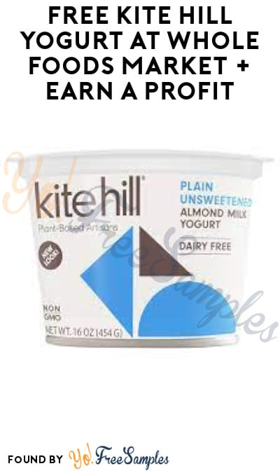 FREE Kite Hill Yogurt at Whole Foods Market + Earn A Profit (Ibotta Required)