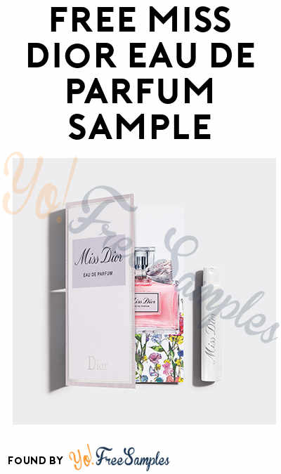 FREE Miss Dior Eau de Parfum Sample