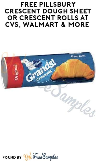 FREE Pillsbury Crescent Dough Sheet or Crescent Rolls at CVS, Walmart & More (Ibotta Required)
