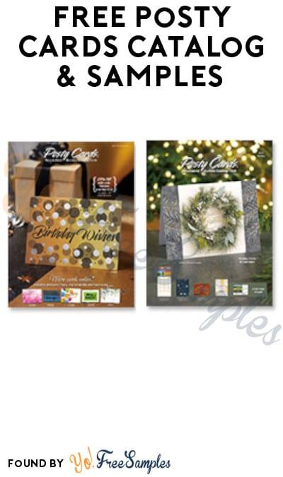 FREE Posty Cards Catalog & Samples