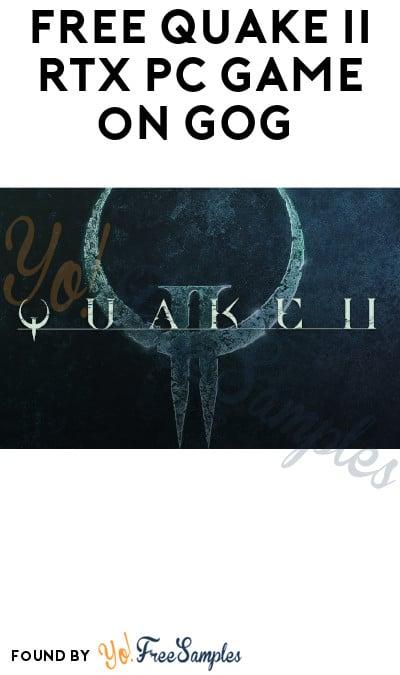 FREE Quake II RTX PC Game on GOG (Account Required)