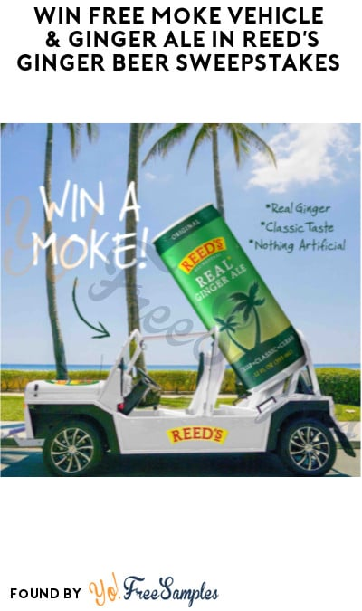 Win FREE Moke Vehicle & Ginger Ale in Reed's Ginger Beer Sweepstakes