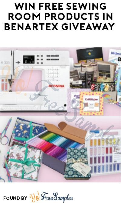 Win FREE Sewing Room Products in Benartex Giveaway