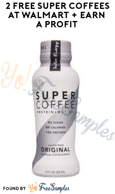 2 FREE Super Coffees at Walmart + Earn A Profit (Aisle & Ibotta Required)