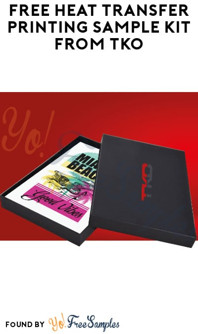FREE Heat Transfer Printing Sample Kit from TKO