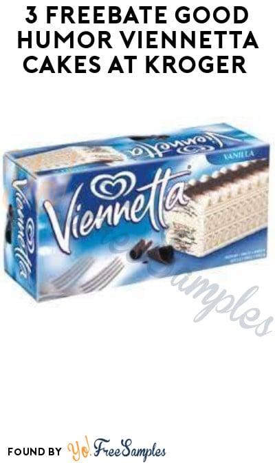 3 FREEBATE Good Humor Viennetta Cakes at Kroger (Fetch Rewards Required)