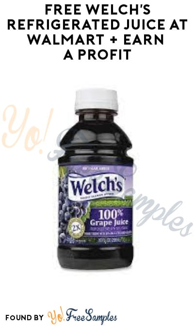 FREE Welch's Refrigerated Juice at Walmart + Earn A Profit (Ibotta & Shopkick Required)