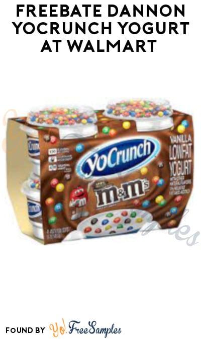 FREEBATE Dannon YoCrunch Yogurt at Walmart (In-Store Only & Ibotta Required)