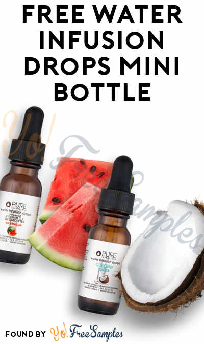 FREE Water Infusion Drops Mini Bottle