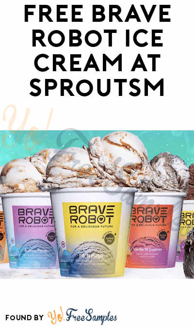 FREE Brave Robot Ice Cream at Sprouts Farmers Market (App/ Coupon Required)