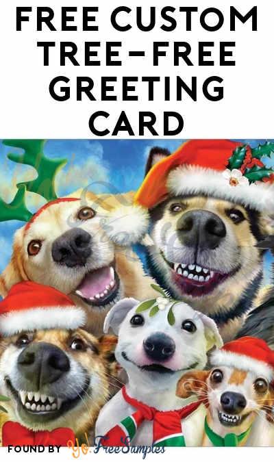 FREE Custom Tree-Free Greeting Card
