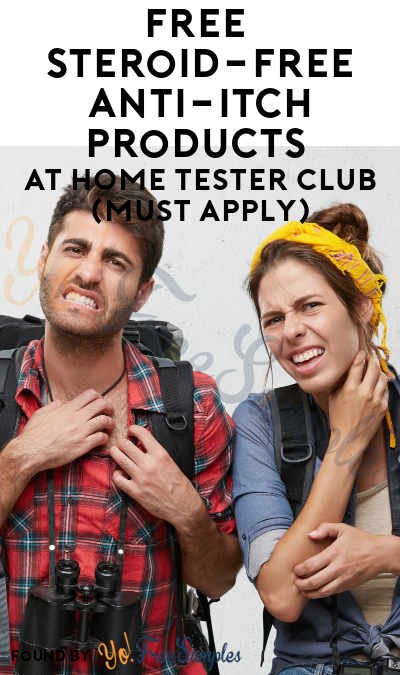 FREE Steroid-Free Anti-Itch Products At Home Tester Club (Must Apply)
