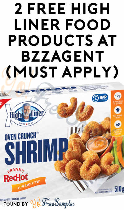 2 FREE High Liner Food Products At BzzAgent (Must Apply)