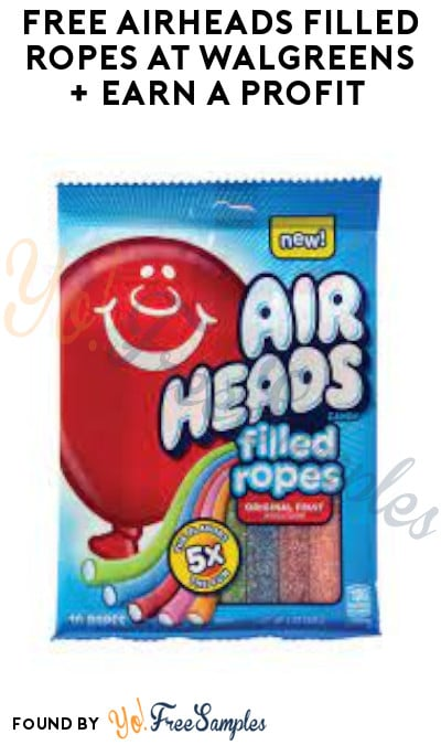FREE Airheads Filled Ropes at Walgreens + Earn A Profit (Account & Ibotta Required)
