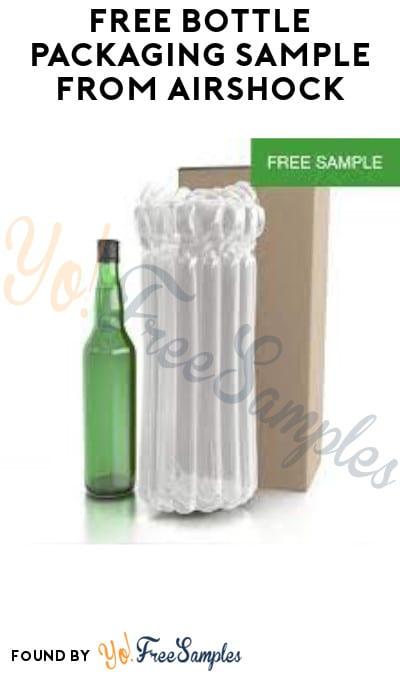 FREE Bottle Packaging Sample from AirShock