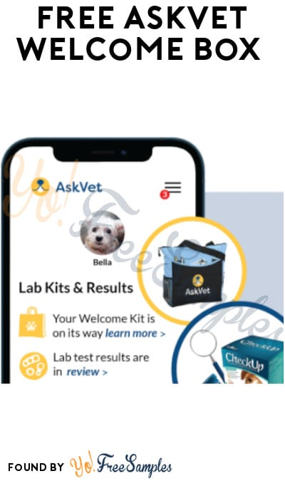 FREE AskVet Welcome Box (App, Credit Card & Code Required)