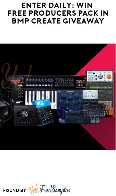 Enter Daily: Win FREE Producers Pack in BMP Create Giveaway
