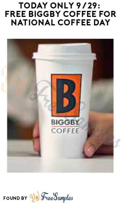 Today Only 9/29: FREE Biggby Coffee for National Coffee Day (Coupon Required)