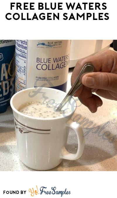 FREE Blue Waters Collagen Samples (Email Required)