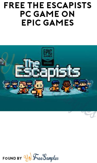 FREE The Escapists PC Game on Epic Games (Account Required)