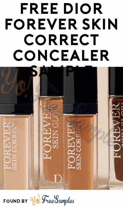 FREE Dior Forever Skin Correct Concealer Sample
