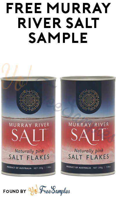 FREE Murray River Salt Sample