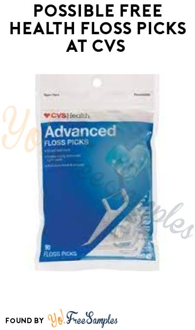 Possible FREE Health Floss Picks at CVS (App/ Coupon Required)