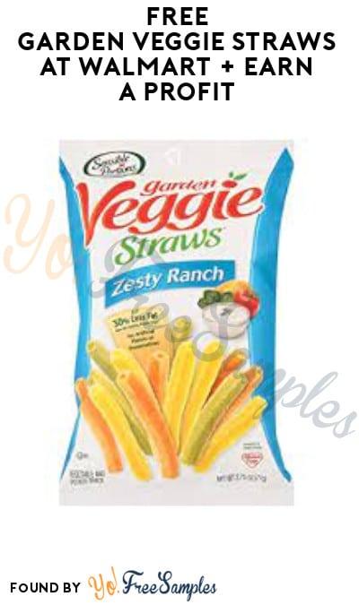 FREE Garden Veggie Straws at Walmart + Earn A Profit (Shopkick Required)