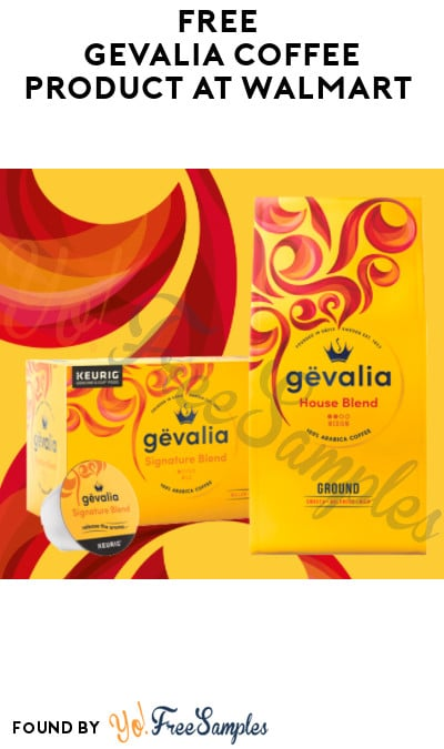 FREE Gevalia Coffee Product at Walmart (Text/ Coupon Required)