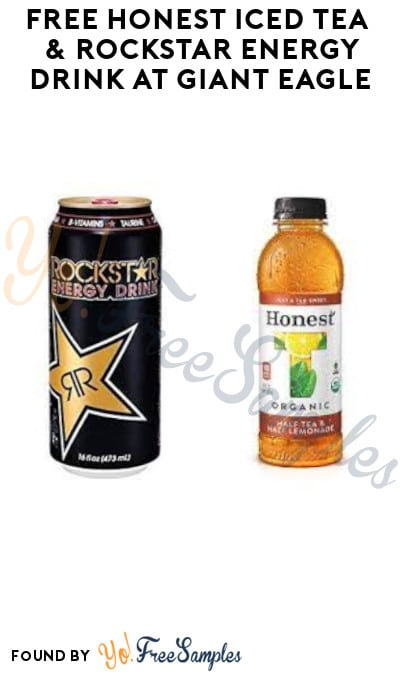 FREE Honest Iced Tea & Rockstar Energy Drink at Giant Eagle (Account/ Coupon Required)