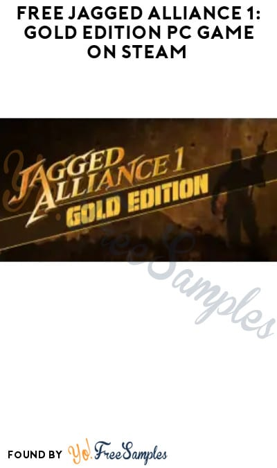FREE Jagged Alliance 1: Gold Edition PC Game on Steam (Account Required)
