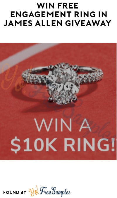 Win FREE Engagement Ring in James Allen Giveaway