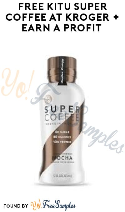 FREE KITU Super Coffee at Kroger + Earn A Profit (Account/ Coupon & Ibotta Required)